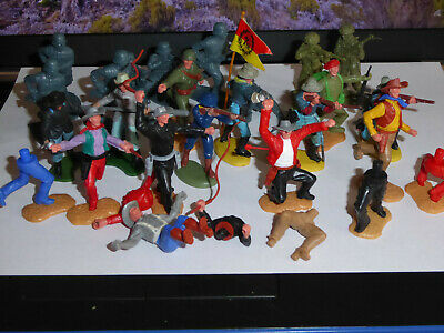 Small Joblot Timpo Toys Cowboys, Britains ACW, Airfix And Spares • 4.99£