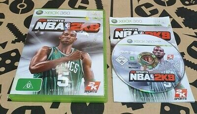 AU9.49 • Buy Nba 2k9 Aus Pal Xbox 360 *complete*