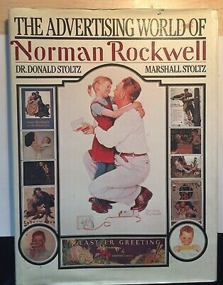 $ CDN6.59 • Buy Norman Rockwell Advertising World Of Coffee Table Book 1985