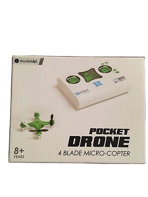 Thumbs Up Pocket Drone Quadcopter 4 Blade Microcopter  • 13.95£