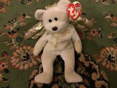 Ty Beanie Baby Halo II Retired Beanie Babies Collectable 2000 • 40£