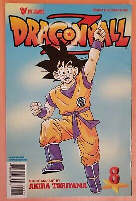 $ CDN18.93 • Buy Dragon Ball Z #8 Part 1 ~ Vf 1998 Viz Comics Manga ~ Akira Toriyama Story & Art