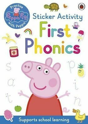 Peppa Pig: First Phonics: Sticker Activity Book By Peppa Pig • 4.30£