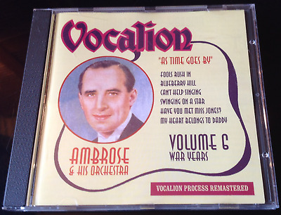Ambrose - War Years Volume Six: As Time Goes By (2004) CD • 8£
