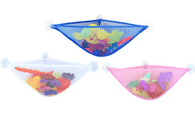 Bath Toy Storage Tidy Bathtub Toys Net Holder Organiser Corner Shower Caddy Bag • 6.99£