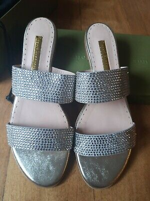Rupert Sanderson Janis Nappa & Crystal Size 42, In Box With Dust Bag, Pre Loved  • 150£