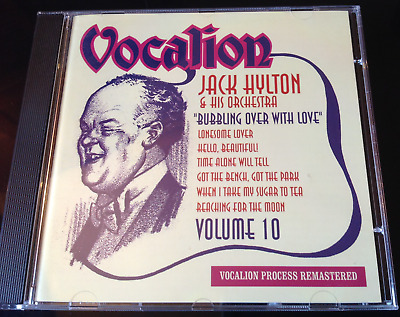 Jack Hylton - Volume Ten: Bubbling Over With Love (2011) CD • 40£