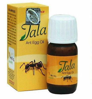 1 X 20ML ORIGINAL TALA ANT EGG OIL Hair Reducing & Hair Removal • 5.99£