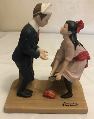 $ CDN26.31 • Buy The 12 Norman Rockwell Porcelain Figurines  First Dance  (1980)