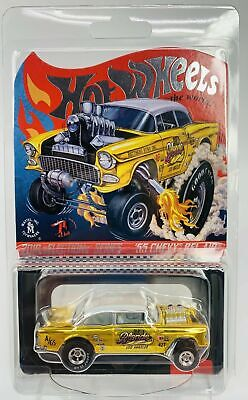 $45 • Buy 2019 HOT WHEELS RLC SELECTIONs '55 CHEVY BEL AIR GASSER DIRTY BLONDE - FREE SHIP