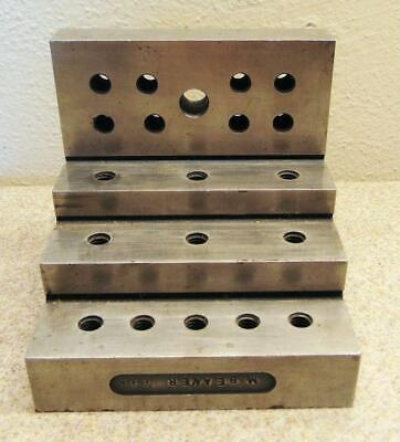 $59.99 • Buy Threaded Stepped Machinist Right Angle Block 4 1/8 X 4 X 4 3/16