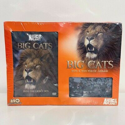 £5.49 • Buy Animal Planet Big Cats Jigsaw And DVD - Sealed 500 Piece Jigsaw