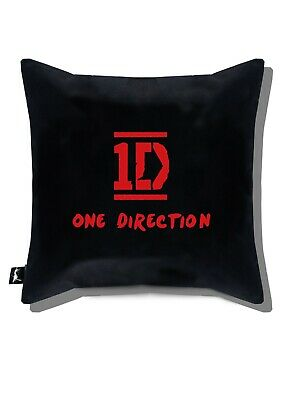 £11.26 • Buy ONE DIRECTION Embroidered Black Pillow Case Personalized Cover Sofa15,75x15,75in