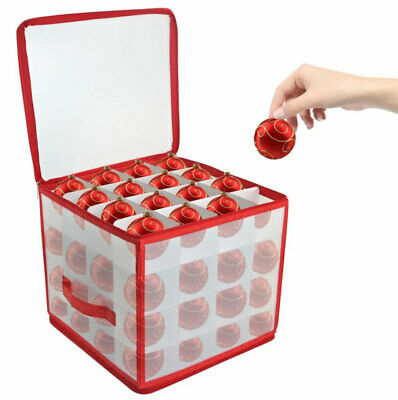 64 Bauble Storage Box For Set Of 64 Baubles Christmas Tree Decoration Organiser • 8.79£