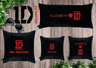 £14.09 • Buy ONE DIRECTION Embroidered Personalized Pillow - Write Your Name/velour/gift/