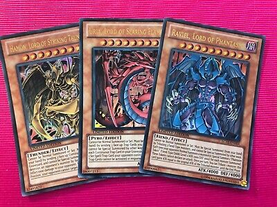 Yugioh LC02 Legendary Collection 2 Promo Cards . Uria, Hamon & Raviel • 3.95£