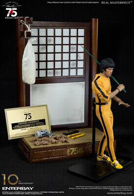 $521.99 • Buy Enterbay Bruce Lee Real Masterpiece 75th Anniversary 1:6 Figure #1967/3500 ~new~