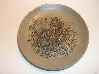 £25 • Buy Poole Pottery Small Cat Themed Pin Dish - Lovely Piece.