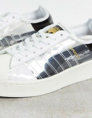 AU98 • Buy Adidas Superstar Bold, Women's Us7, Brand New In Box Condition 10/10