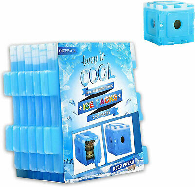 Ice Pack Freezer Blocks For Cooler Bag Cool Box Picnic Box Bag Keep Food Cold • 14.99£