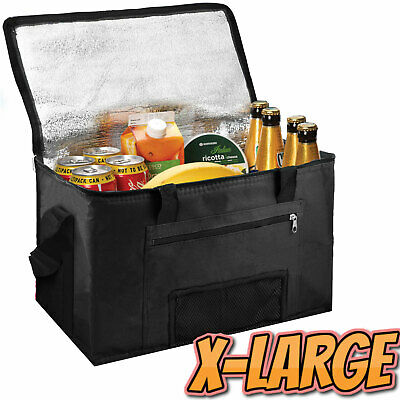£8.99 • Buy Extra Large 28L Insulated Cooler Cool Bag Box Picnic Camping Food Drink Ice