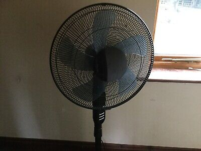 Challenge 5 Blade Pedestal Fan With Remote Control  - 18 Inch • 27£