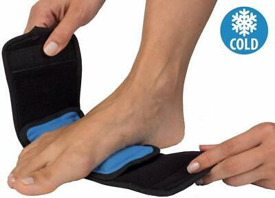 Hot Cold Therapy Wrap Gel Ice Pack Compression Band Foot, Ankle, Wrist, Elbow • 8.99£