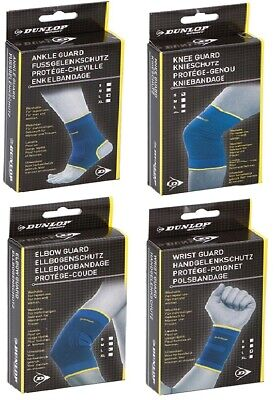 DUNLOP Joint Support Elbow Knee Wrist Ankle Guard Protection Gym Sports Injury • 2.59£