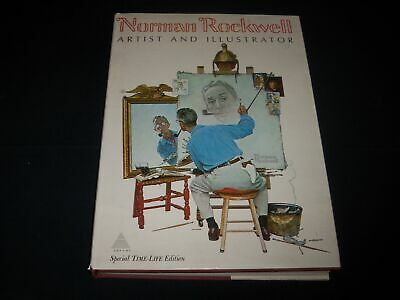 $ CDN31.72 • Buy 1970 Norman Rockwell Artist And Illustrator Book By Abrams - Large - Kd 821