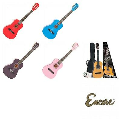 Encore 1/2 Size Acoustic Guitar Outfit Junior Kids Children's • 52.99£