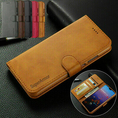 Leather Magnetic Flip Wallet Card Case Cover For IPhone 11 SE 2020 7/8 XR X Plus • 3.99£