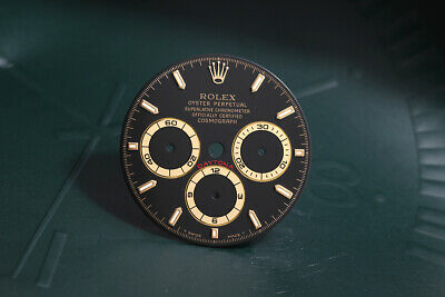$ CDN3700.06 • Buy Rolex Daytona Black T Swiss Made T Stick Dial For 16523 - 16528 FCD11194