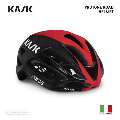 NEW 2020 Kask PROTONE Road Cycling Helmet : TEAM INEOS BLACK/BORDEAUX • 231.92£