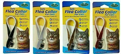 £3.98 • Buy Beaphar Canac Soft Flea Collar For Cat With Bell Effective For 4 Months