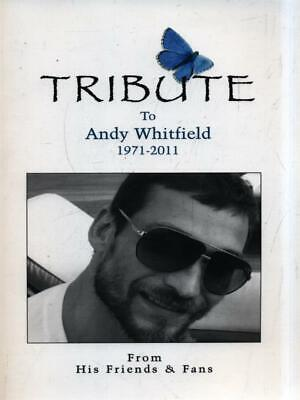 Tribute, To Andy Whitfield 1971-2011 Kyd Irena Prong Horn Press 2012 • 14.79£