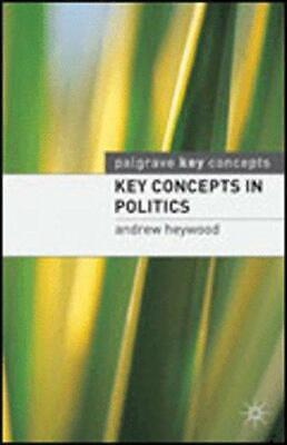 £2.73 • Buy Key Concepts In Politics (How To Study), Andrew Heywood, Good Condition Book, IS