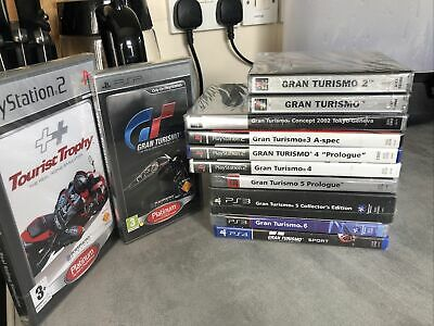 Gran Turismo Complete Collection Pal UK New Sealed • 2,399£