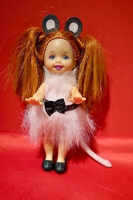 Barbie Doll Little Sister Shelly Kerstie The Merry Mouse From Swan Lake • 12.50£