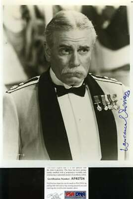 Laurence Olivier Psa Dna Coa Hand Signed 8x10 Photo Autograph • 59.04£