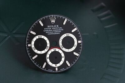 $ CDN3700.06 • Buy Rolex Daytona Black Swiss Made Stick Dial For 16520 FCD11180
