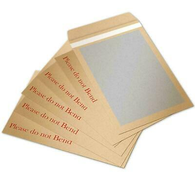 £1.99 • Buy Please Do Not Bend Hard Card Board Back Backed Manilla Envelopes Brown A4 A5