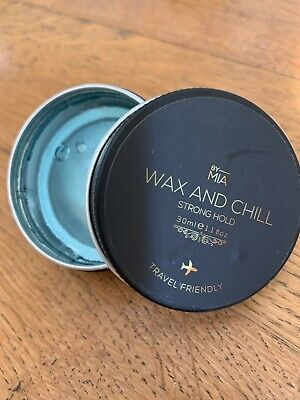 MIA Wax And Chill Strong Hold Wax Handy Travel Size 30ml Tub UK SELLER • 4£