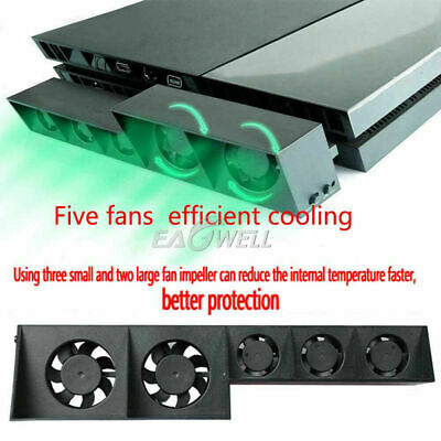 AU27.99 • Buy Fan For PS4 Game Accessories Play Station 4 Host Cooling Fan Cooler External AU