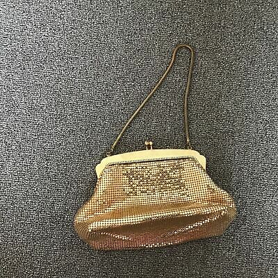 AU10.50 • Buy Oroton Gold Glomesh Bag #904