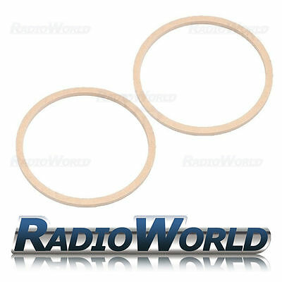 £6.89 • Buy 8  200mm MDF Speaker Spacer Mounting Rings 8mm Thick ID 182mm ED 202mm Pair