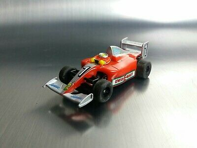 Micro Scalextric Bart Simpsons Kwik-E-Mart F1 Car Working 1:64  Free Postage • 10£