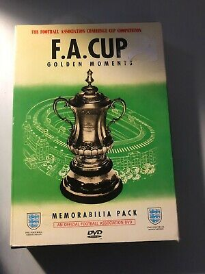 £14.99 • Buy FA CUP CUP FINAL GOLDEN MOMENTS DVD And Memorabilia Pack