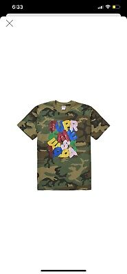 $ CDN89 • Buy Supreme Balloons T-Shirt Size Medium Camouflage DS With Receipt 100% Authentic
