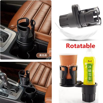 $ CDN17.42 • Buy Rotatable Black Car Seat Drink Cup Holder Travel Coffee Bottle Stand Accessories