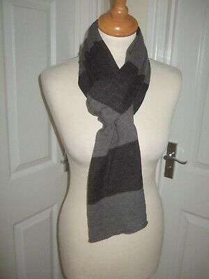 BNWoT GAP Gorgeous Multi Grey Striped Winter Scarf NEW • 5.49£